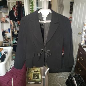 BOGO I.N. Studio open tie blazer with ribbon 12